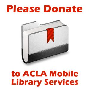 Please Donate to ACLA Mobile Library Services