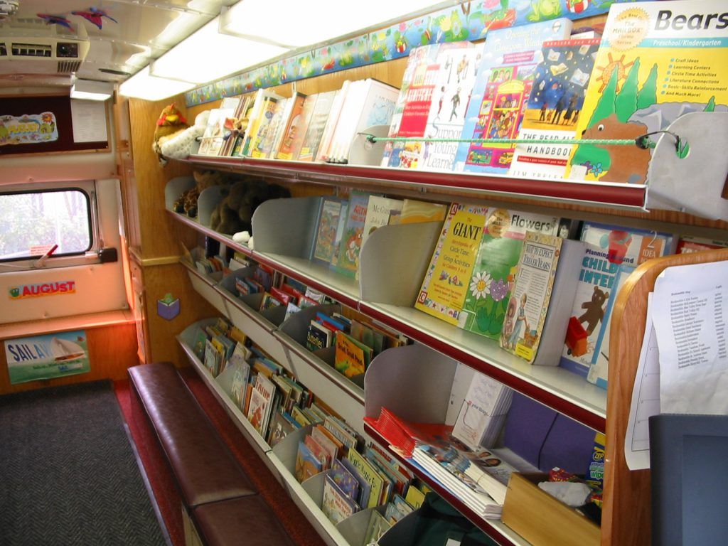 Bookmobile - During this closure
